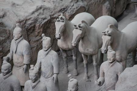'Guerreiros de Terracota em Xi'An, China' by Ana Paula Hirama (on Flickr)