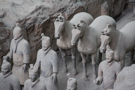 'Guerreiros de Terracota em Xi'An, China' by Ana Paula Hirama (on Flickr)