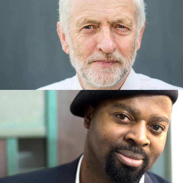 Event: Jeremy Corbyn and Ben Okri, 15 July 2016, London