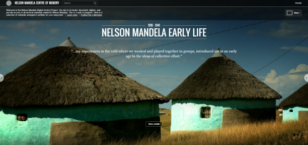 Nelson Mandela early life