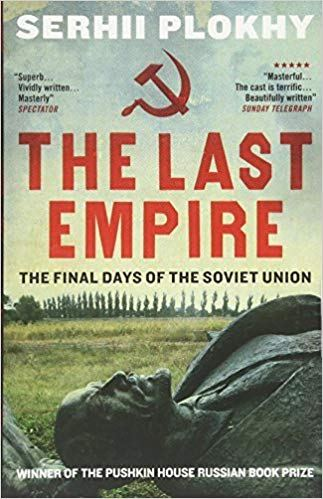 Cover of The last empire by Plokhy