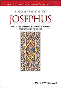 A companion to Josephus book cover